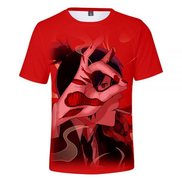 2021 Anime Chainsaw Man 3D Print T shirts Women Men Fashion Summer Short Sleeve T Shirts 2 - Chainsaw Man Shop