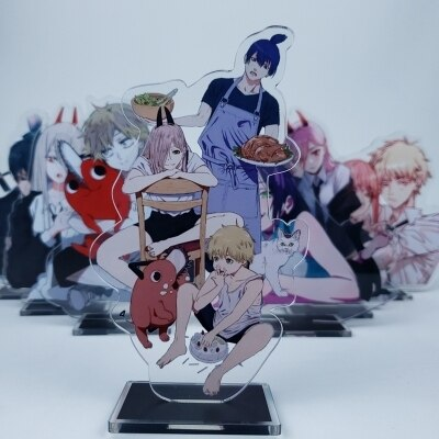 Anime Chainsaw Man 15cm Cosplay Acrylic Figure Stand Figure 7294 Kids Collection Toy 1.jpg 640x640 1 - Chainsaw Man Shop