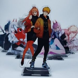 Anime Chainsaw Man 15cm Cosplay Acrylic Figure Stand Figure 7294 Kids Collection Toy 4.jpg 640x640 4 - Chainsaw Man Shop
