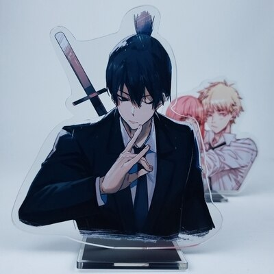 Anime Chainsaw Man 15cm Cosplay Acrylic Figure Stand Figure 7294 Kids Collection Toy 7.jpg 640x640 7 - Chainsaw Man Shop
