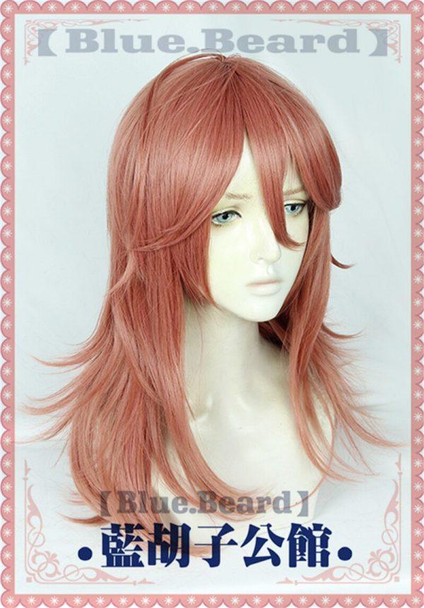 Anime Chainsaw Man Angel Devil Cosplay Wig Orange 50cm Long Role Play Heat Resistant Fiber Hair 1 - Chainsaw Man Shop