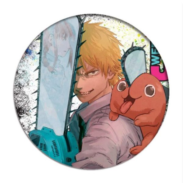 Anime Chainsaw Man Cosplay Backpack Badges Makima Brooch Pins Hayakawa Aki Collection Toys Breastpin for Bags 16.jpg 640x640 16 - Chainsaw Man Shop