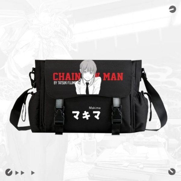 Anime Chainsaw Man Crossbody Casual Bags School Bag Unisex Messenger Bag Fashion Shoulder - Chainsaw Man Shop