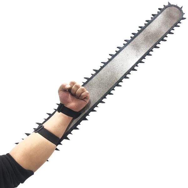 Anime Chainsaw Man Denji Cosplay Prop 95CM PVC Handsaw 2 Pieces Weapons for Halloween Carnival Christmas 1 - Chainsaw Man Shop