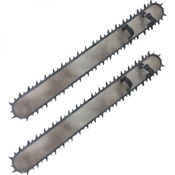 Anime Chainsaw Man Denji Cosplay Prop 95CM PVC Handsaw 2 Pieces Weapons for Halloween Carnival Christmas - Chainsaw Man Shop