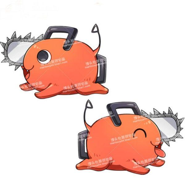 Anime Chainsaw Man Denji Makima Power Pochita Cosplay Plush Toy Soft Pillow Fans Collection Gift - Chainsaw Man Shop