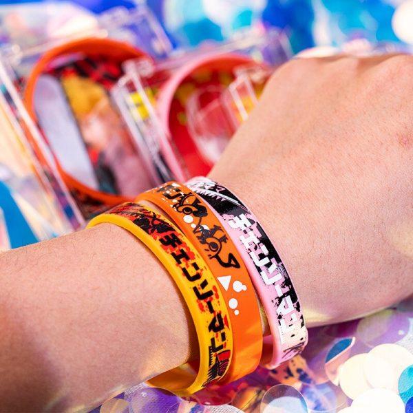 Anime Chainsaw Man Denji Makima Sport Wristbands Cosplay Props Silica Gel Bracelet Wristband 3D Printing Hand 1 - Chainsaw Man Shop