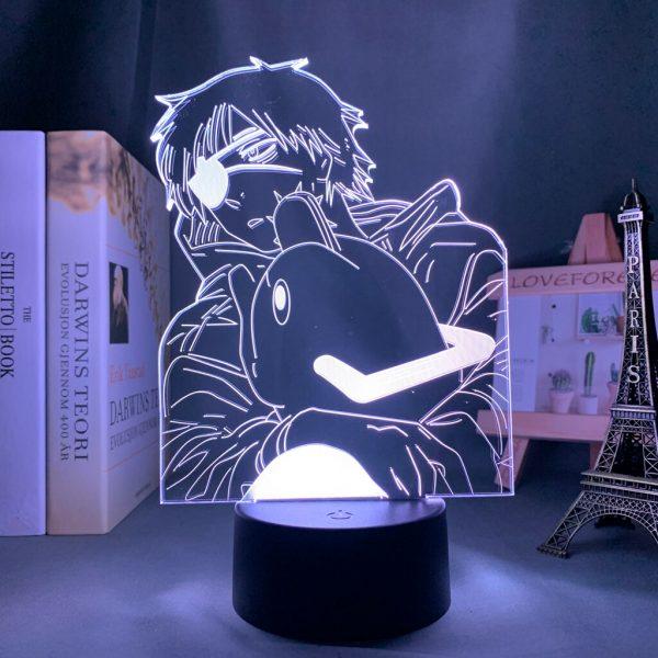 Anime Chainsaw Man Led Light for Bedroom Decorative Night Light Children Birthday Gift Manga Chainsaw Man - Chainsaw Man Shop