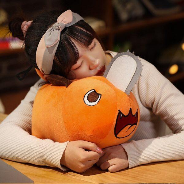 Anime Chainsaw Man Pochita Doll Cosplay Props Toy Dog Pendant Cushion Throw Pillow 2 - Chainsaw Man Shop
