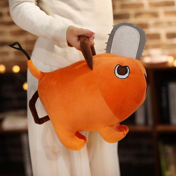 Anime Chainsaw Man Pochita Doll Cosplay Props Toy Dog Pendant Cushion Throw Pillow 3 - Chainsaw Man Shop