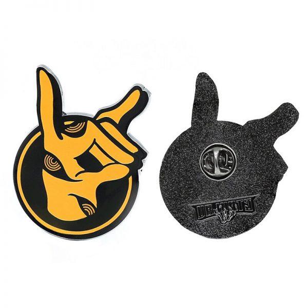 Anime Chainsaw Man Power Makima Himeno Enamel Pin Brooch Pin Cute Metal Pendant Cosplay Props Accessories - Chainsaw Man Shop