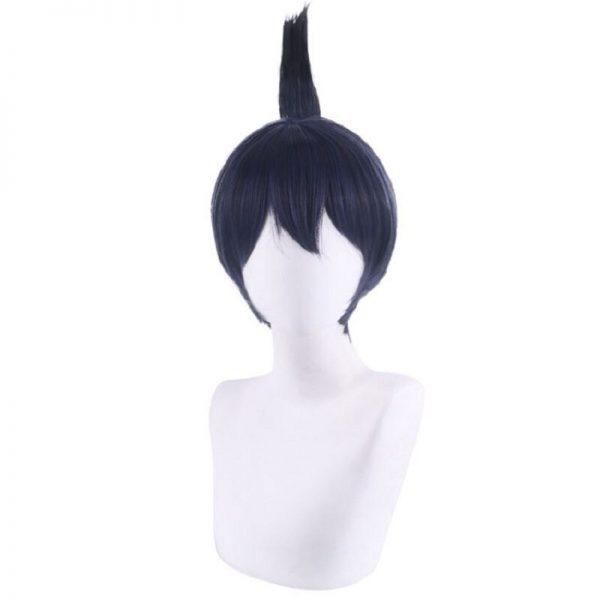 Anime Chainsaw Man Wig Hayakawa Aki Cosplay Wigs 30cm Short black blue Fake Hair men women - Chainsaw Man Shop