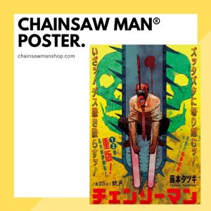 Chainsaw Man Posters