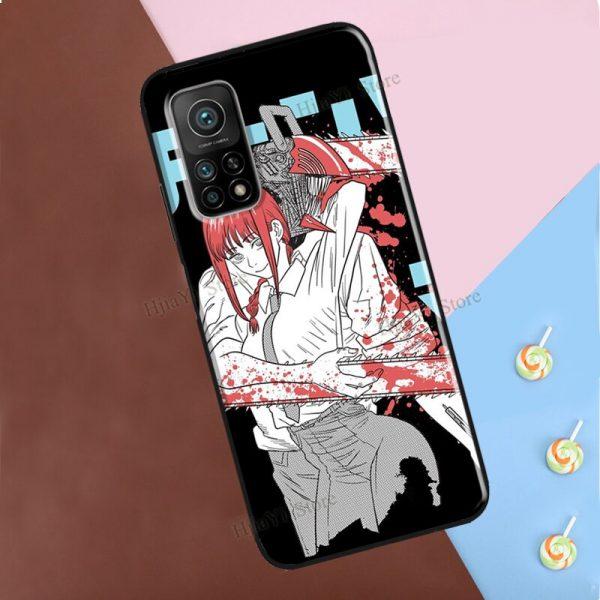 Chainsaw Man Horror Anime For Xiaomi Mi 9T 10T Pro Mi Note 10 Lite A2 Mi 4 - Chainsaw Man Shop