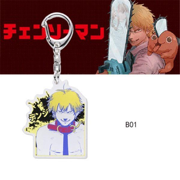 Chainsaw Man Pochita Keychain Cosplay Acrylic Key Chain Pendant Womens Cute Bag Pendant Key Ring Gift 3.jpg 640x640 3 - Chainsaw Man Shop