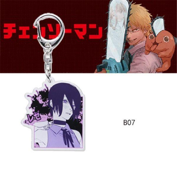 Chainsaw Man Pochita Keychain Cosplay Acrylic Key Chain Pendant Womens Cute Bag Pendant Key Ring Gift 7.jpg 640x640 7 - Chainsaw Man Shop