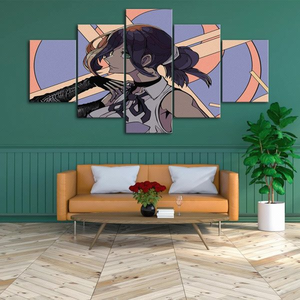 HD Home Decoration Anime Canvas Japan Prints Painting Chainsaw Man Poster Wall Art Modular Picture For 3 - Chainsaw Man Shop
