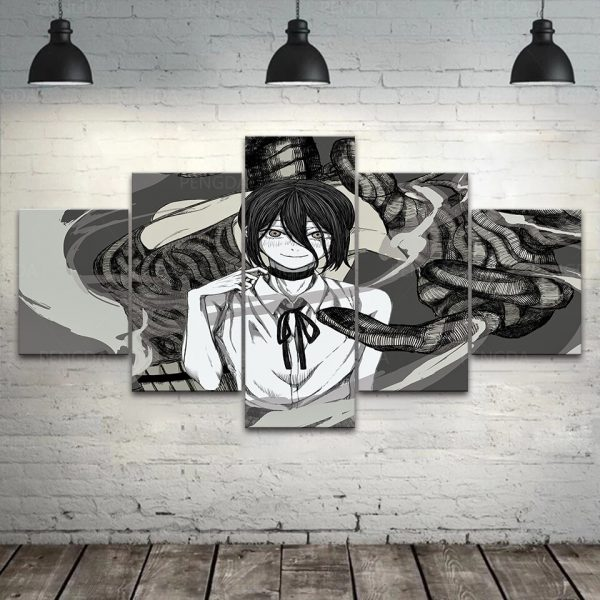 HD Home Decoration Chainsaw Man Canvas Anime Prints Painting Japan Poster Wall Artwork Modular Picture For 1 - Chainsaw Man Shop