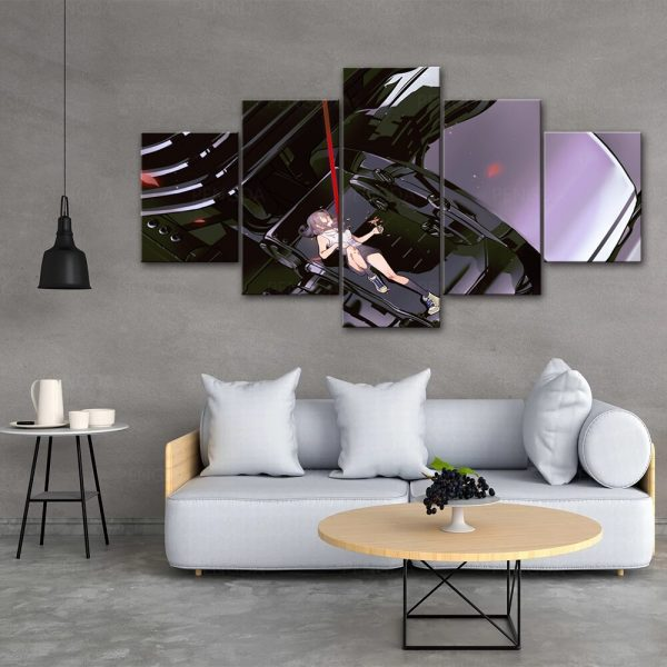 HD Home Decoration Chainsaw Man Canvas Anime Prints Painting Poster Wall Modern Artwork Modular Pictures Living 3 - Chainsaw Man Shop