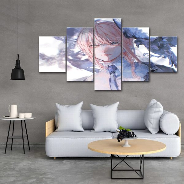 Home Decoration Chainsaw Man Canvas Anime Prints Painting Japan Poster Wall Modern Art Modular Pictures For 2 - Chainsaw Man Shop