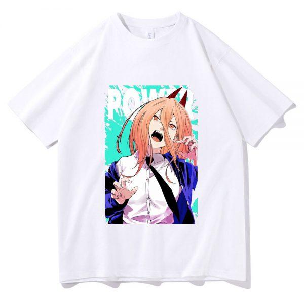 Japan Manga Ayanami Rei Image Tshirt Anime Chainsaw Man T Shirt Summer Vintage T shirt Men 2 - Chainsaw Man Shop