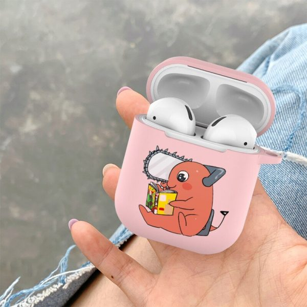 Japanese cartoon anime Chainsaw Man Candy Soft Tpu Case For Apple Airpods 1 2 Pro Bluetooth 2 - Chainsaw Man Shop