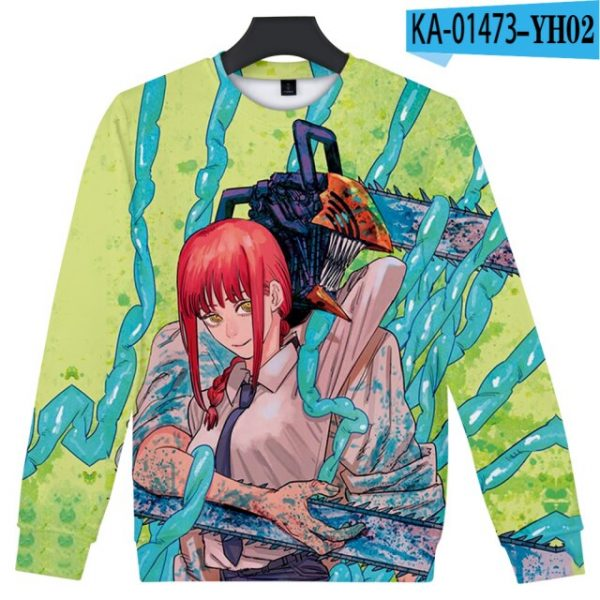 Manga Chainsaw man 3D Printed Sweatshirt Women Men Long Sleeve Sweatshirts Chainsawman Anime Autumn Winter Streetwear 7.jpg 640x640 7 - Chainsaw Man Shop