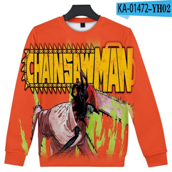 Manga Chainsaw man 3D Printed Sweatshirt Women Men Long Sleeve Sweatshirts Chainsawman Anime Autumn Winter Streetwear 8.jpg 640x640 8 - Chainsaw Man Shop
