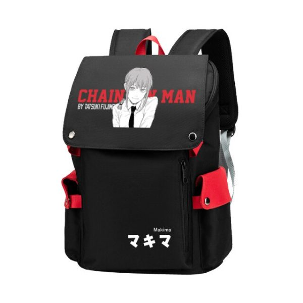 Unisex Anime Cartoon Chainsaw Man Makima Hayakawa Aki Travel Rucksack Casual Schoolbag Student - Chainsaw Man Shop