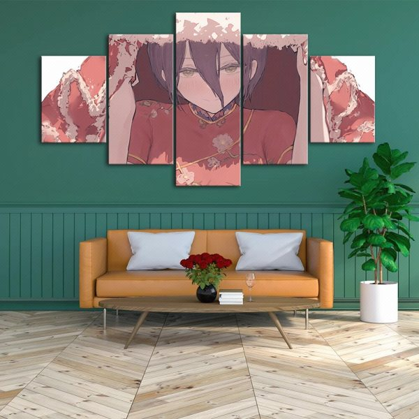 Wall Art Modular Japan Anime Canvas Pictures Home Decor Chainsaw Man Painting Prints Poster Bedside Background 2 - Chainsaw Man Shop