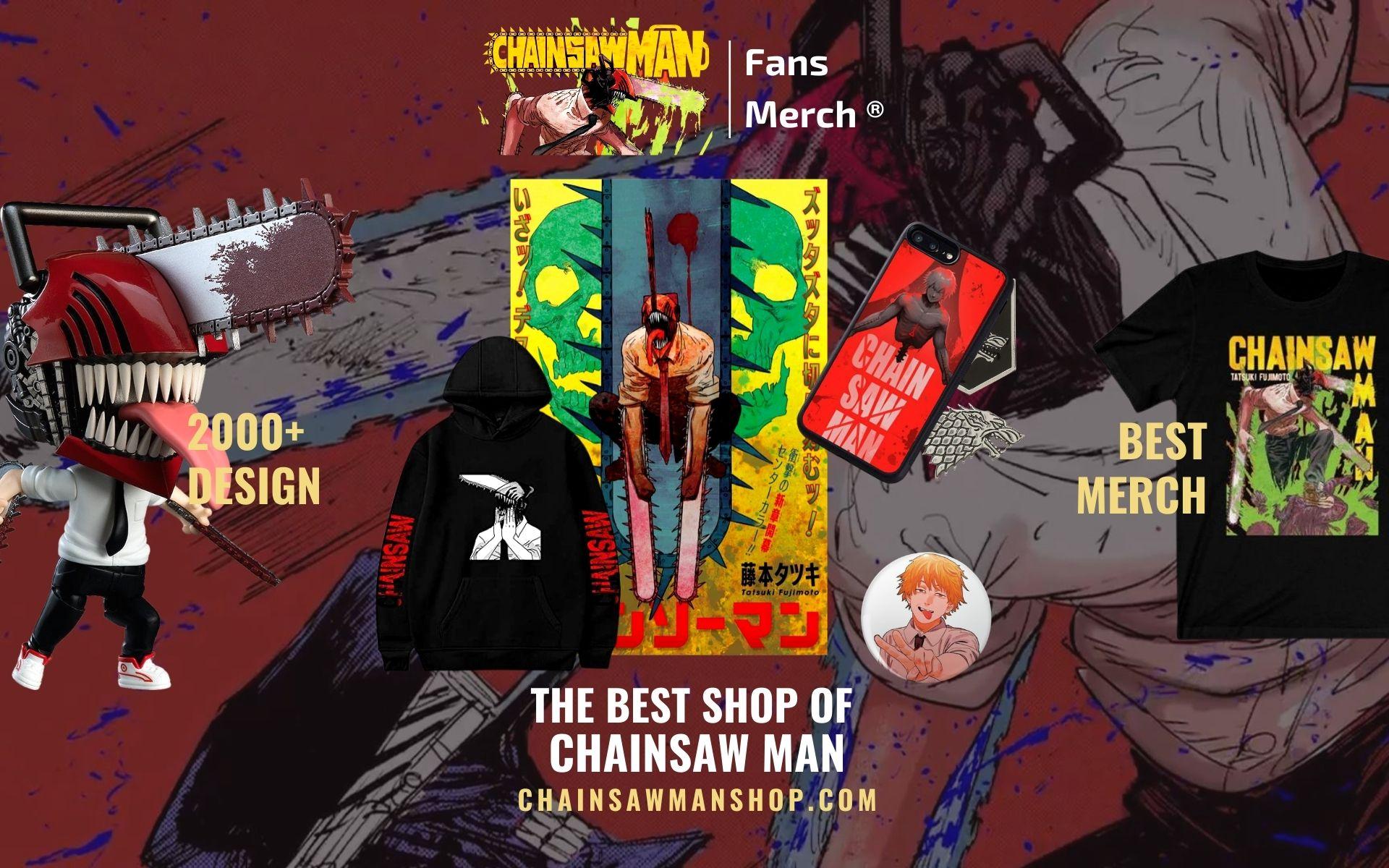 CHAINSAW MAN SHOP Web Banner - Chainsaw Man Shop