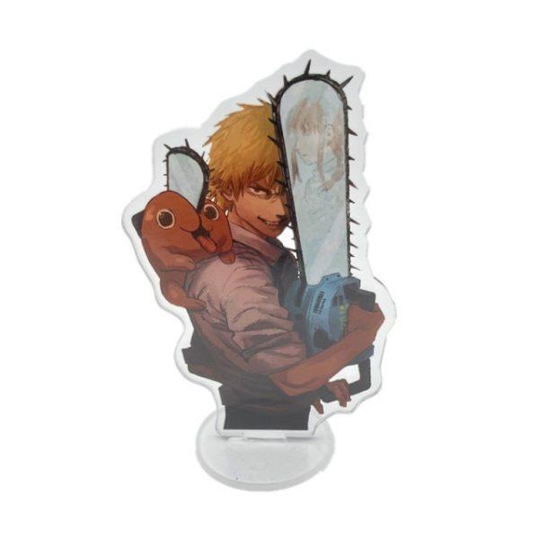Anime Chainsaw Man Figure Stand Model Denji Pochita Power Hayakawa Aki Standing Plate Acrylic Cartoon Cosplay 5.jpg 640x640 5 - Chainsaw Man Shop